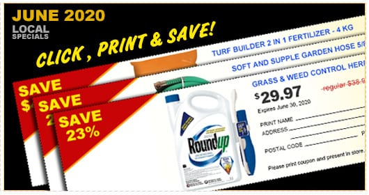 Click to View Coupons for May 2020!